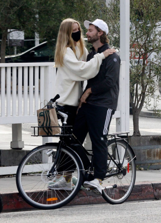 Abby Champion and Patrick Schwarzenegger Out Cycling in Los Angeles
