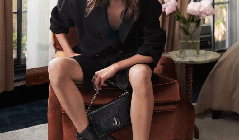 Celebrity Photoshoot – Daisy Edgar-Jones for Jimmy Choo 2020 Collection