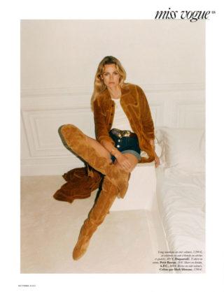 Edita Vilkeviciute in Vogue Magazine, France October 2020