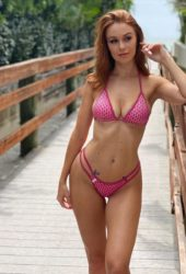 Leanna Decker in Bikini Instagram photos