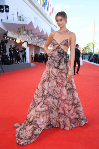 Taylor Hill at 77th Venice Film Festival Opening Ceremony