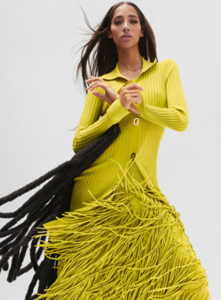 Yasmin Wijnaldum in Harper's Bazaar Magazine, October 2020