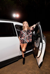 Anne Winters at Nights of the Jack Friends & Family Night at King Gillette Ranch in Calabasas