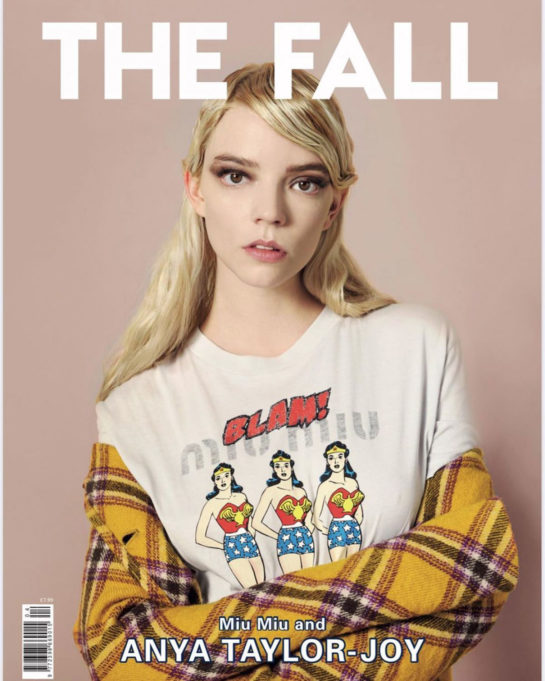 Anya Taylor-Joy in The Fall Magazine, 2020