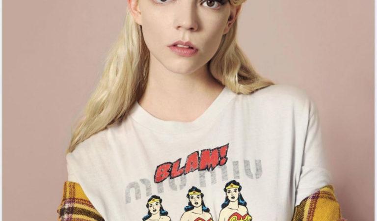 Magazine Covers – Anya Taylor-Joy in The Fall Magazine, 2020