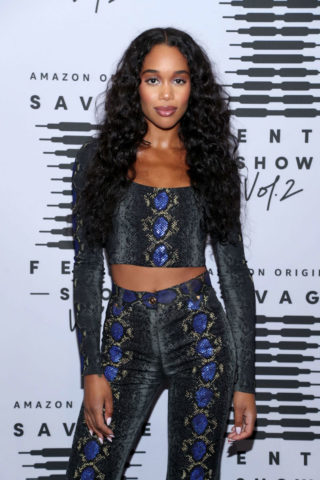 Laura Harrier at Rihanna's Savage x Fenty Show Vol. 2 in Los Angeles