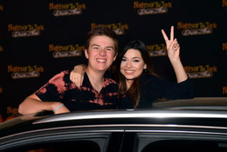 Nikki Hahn at Nights of the Jack Friends & Family Night at King Gillette Ranch in Calabasas