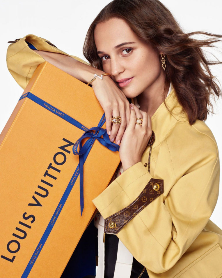 Alicia Vikander for Louis Vuitton Journey Home for the Holidays 2020 Collection