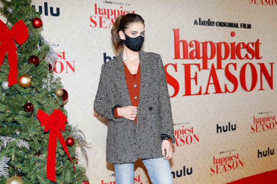 "Alison Brie attends Hulu ""Happiest Season"" Drive-In Premiere in Los Angeles"