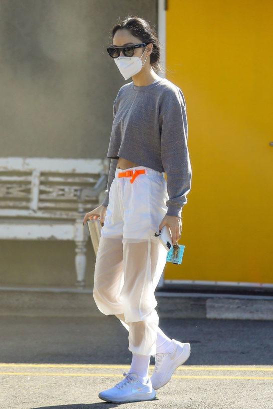 Cara Santana Heading to a Gym in West Hollywood