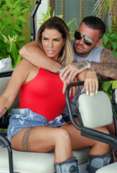 Katie Price and Carl Woods on Holiday in Maldives