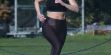 Kirsty Gallacher Workout in Richmond