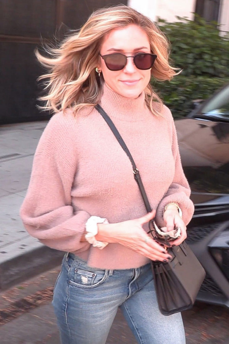 Kristin Cavallari Leaves Nine Zero One Salon in West Hollywood
