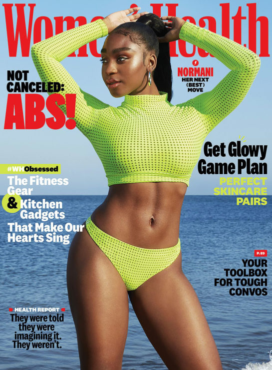 Normani in Women's Health magazine December 2020