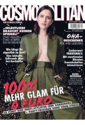 Rachel Brosnahan in Cosmopolitan Magazine Germany December 2020