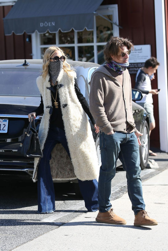 Rachel Zoe and Rodger Berman at Brentwood Country Mart