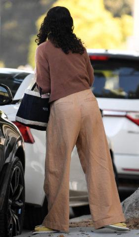 Rumer Willis Arrives at a hair salon in Beverly Hills
