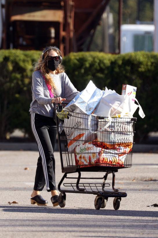Sarah Jessica Parker Shopping at Citarella in New York