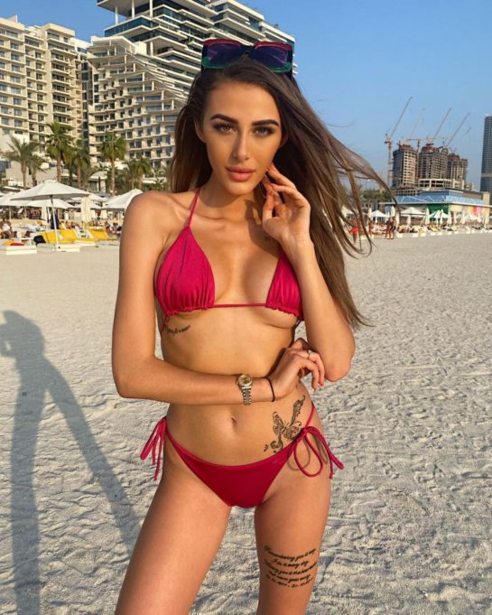 Chloe Veitch in Bikini and Swimsuit Instagram photos