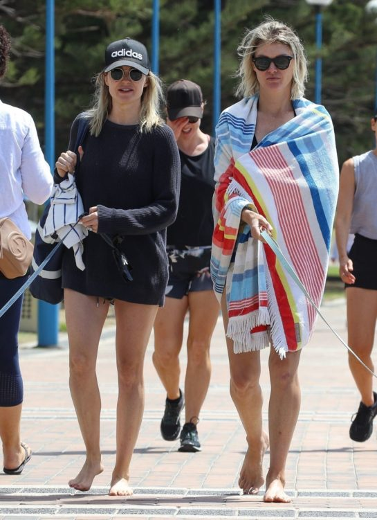 Courtney Roulston and Sophie King Out in Coogee, Sydney