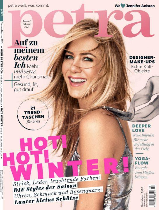 Jennifer Aniston in Petra Magazine January/February 2021
