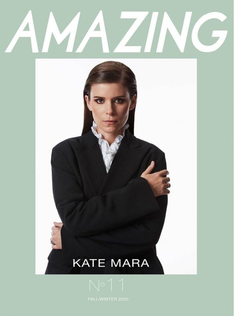 Kate Mara in Amazing Magazine, Winter 2020