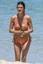 Kate Walsh in Bikini at a Beach in Perth