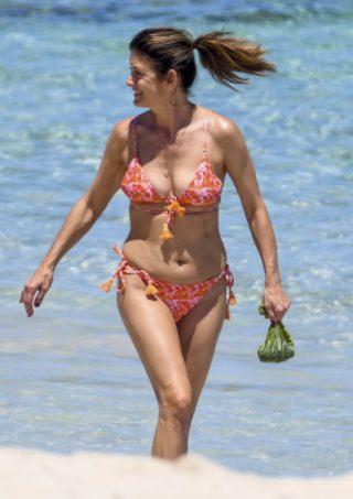 Kate Walsh in Bikini at a Beach in Perth