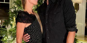 Paris Hilton and Carter Reum at the Montage Hotel in Laguna Beach