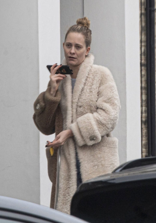 Poppy Delevingne Out in London