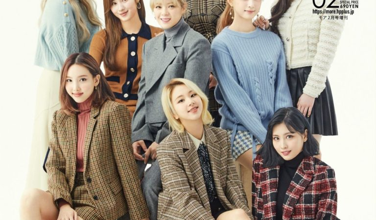 Magazine Covers – TWICE in MORE Magazine, Japan February 2021