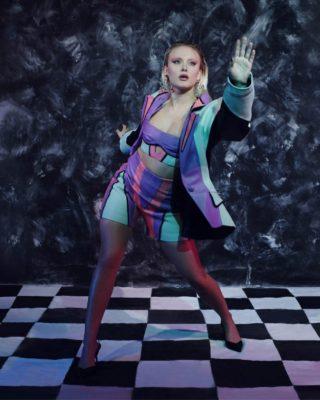 Zara Larsson in EUPHORIA Magazine, November 2020