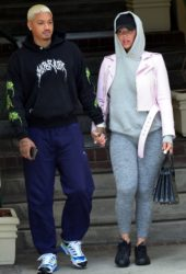 Amber Rose and Alexander Edwards Out in West Hollywood