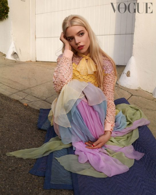 Anya Taylor-Joy for Vogue Magazine, UK April 2021
