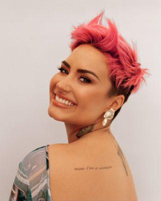 Demi Lovato for Glamour Magazine, March 2021