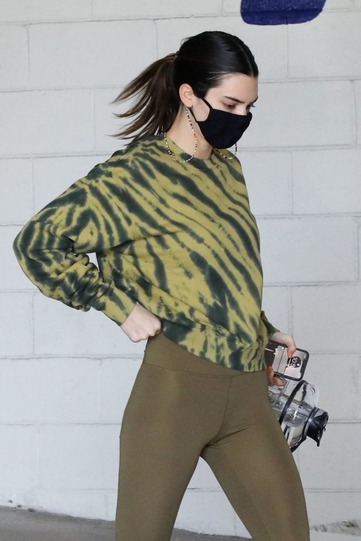 Kendall Jenner Leaving a fitness gym in Beverly Hills