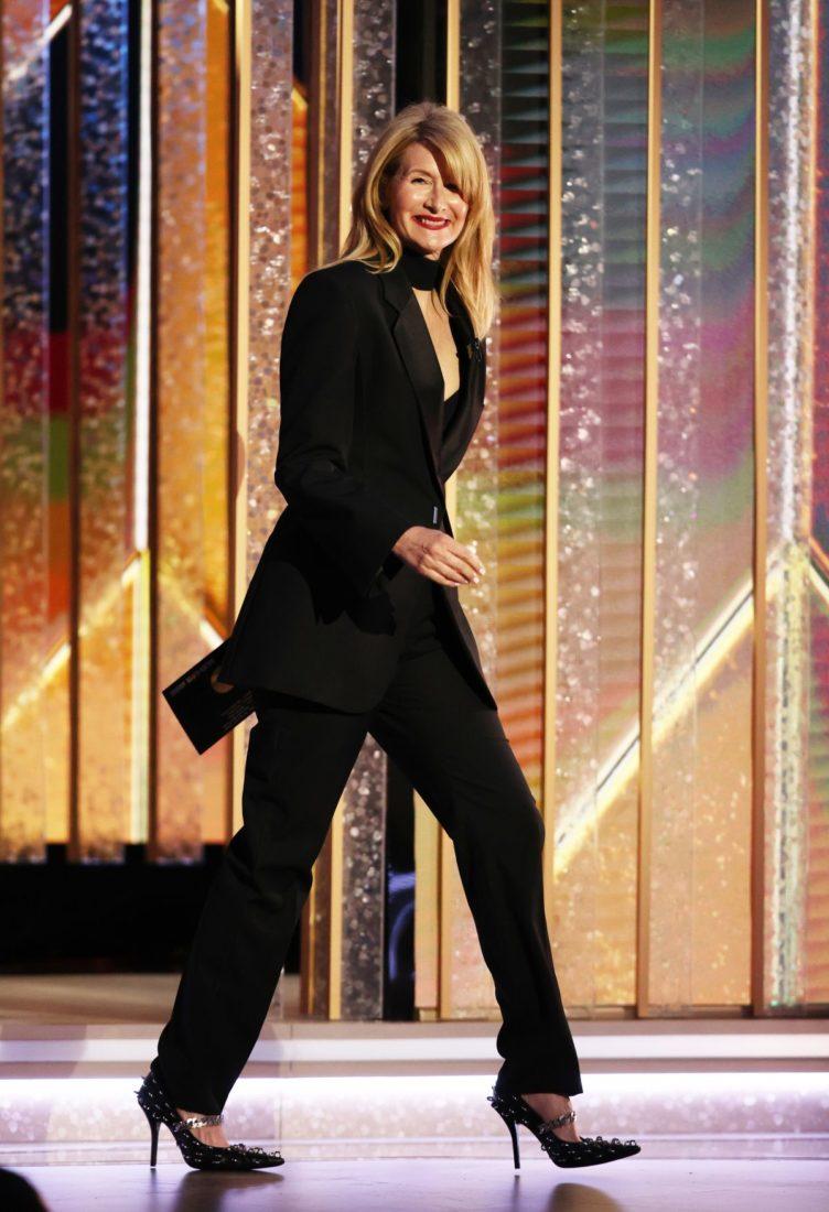 Laura Dern at 78th Annual Golden Globe Awards