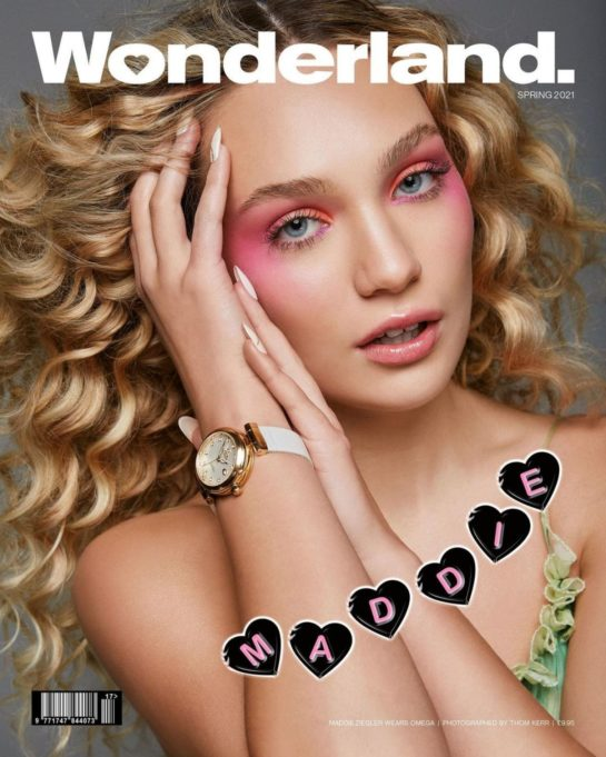 Maddie Ziegler in Wonderland Magazine, March 2021