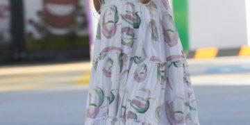 Pregnant Jesinta Franklin Out in Sydney