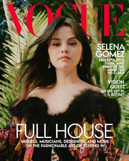 Selena Gomez for Vogue Magazine, April 2021