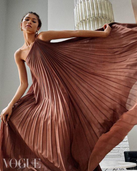 Zendaya for Vogue Magazine, UK April 2021