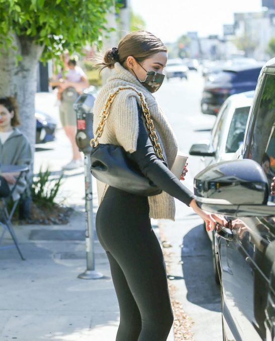 Olivia Culpo Out for Coffee in LA
