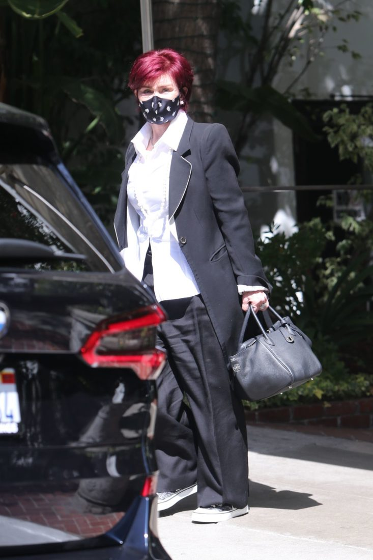 Sharon Osbourne Out and About in LA