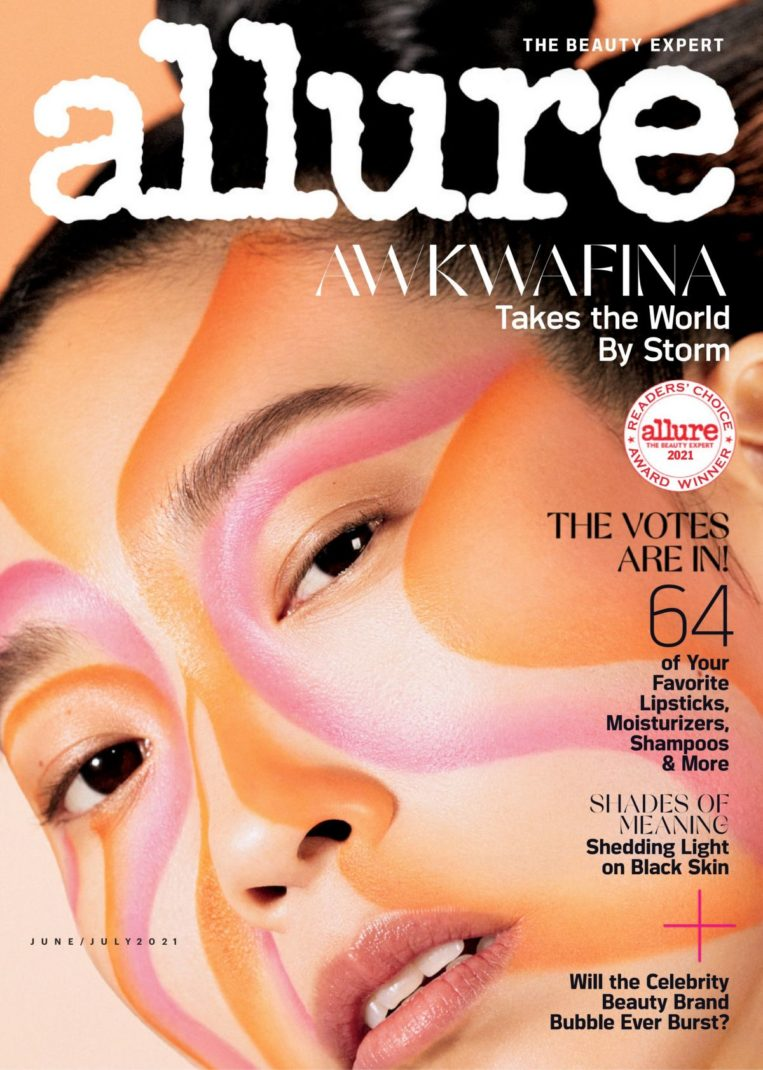 Awkwafina in Allure Magazine, June/July 2021