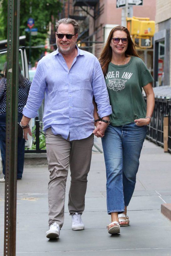 Brooke Shields and Chris Henchy Out in New York