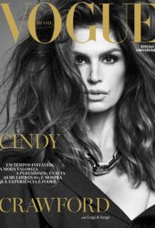 Cindy Crawford for Vogue Magazine, Brazil May 2021