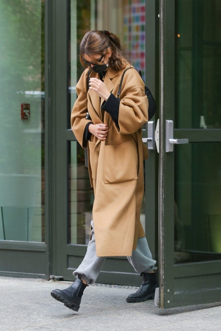 Kaia Gerber Leaves Crosby Hotel in New York City