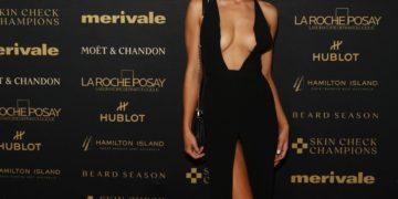 Madeline Holtznagel at Million Dollar Beard Ball in Sydney