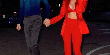 Megan Fox and Machine Gun Kelly Celebrates Her 35th Birthday in Santa Monica