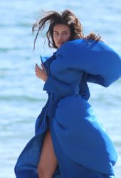 Teodora Djuric at a Photoshoot in Santa Monica